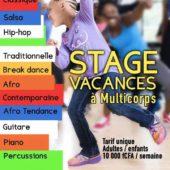 STAGE VACANCES DU 1er AU 30 JUILLET 2019 [PLANNING]